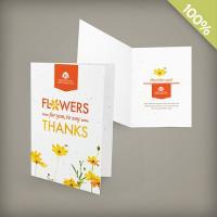 Seeded Paper Medium Greeting Card