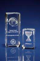 Crystal Glass Verbier Award, Trophy or Paperweight