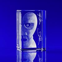 Crystal Glass Concerts & Festivals Paperweight or Award