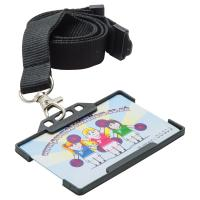 Rigid Card Holders Landscape (Available In Black Blue Red Green & Clear)