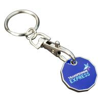 Trolley Coin Keyring (Full Colour Print)