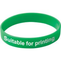 Child Silicone Wristband (UK Stock: Available in Red Blue Green or Yellow)