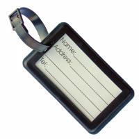 Soft PVC Luggage Tag (Medium: Rigid Frame)