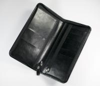 Darwin PU Zipped Travel Wallet