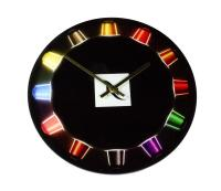 RECYCLED GLASS WALL CLOCK