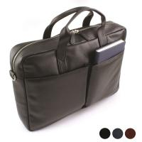 Sandringham Nappa Leather Commuter Bag  in Colours