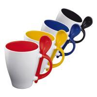 "Mug with spoon ""Risley"""