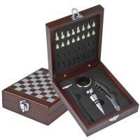 "Chess wine set ""San Gimignano"""