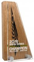REAL WOOD BLOCK   ACRYLIC AWARDS E94103