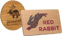 REAL WOOD FRIDGE MAGNETS E915513