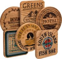 REAL WOOD COASTERS E96311