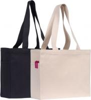 CRANBROOK 10oz COTTON CANVAS TOTE BAG NATURAL E911305