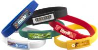 DOMED SILICONE WRISTBANDS E915202