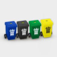 Green & Good Wheelie Bin Pencil Sharpener - Recycled
