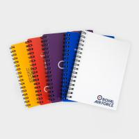 Green & Good A6 Polypropylene Wire Notebooks - Recycled