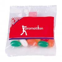 Fruit pastilles or jelly bean bag, 25g