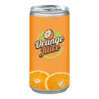 Organic orange juice.