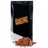 Organic hot chocolate powder sachet