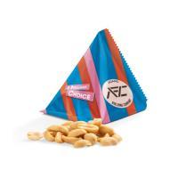 Snack Tetrahedron Peanuts white
