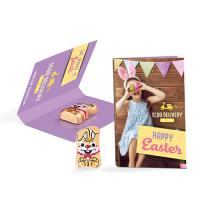 Promotion Card Easter Bunny white