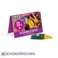 Promotion Card Ritter SPORT Chocolate Bites