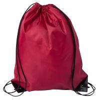 Drawstring Sports Bag Burgundy