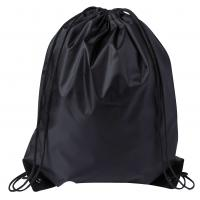 Drawstring Sports Bag Black