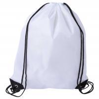 Drawstring Sports Bag White