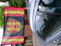 Printed Car flag