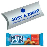 Designer Pillow Box  Kelloggs Nutri-grain Cereal Bar - British Made