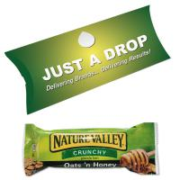 Designer Pillow Box  Nature Valley Cereal Bar - British Made