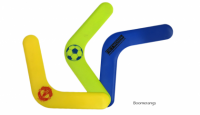 PLASTIC BOOMERANG - British Made