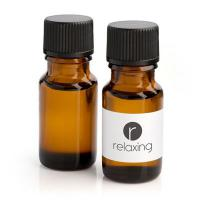 Bottle of Relaxing Oil in a Brown Bottle, 10ml - British Made