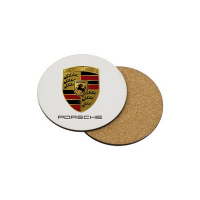 Standard Cork Backed Coaster - British Made