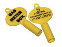 GAS METER KEY - British Made