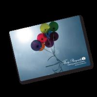 A6 105x148mm rectangle flexible fridge magnet - British Made