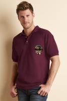 Gildan Ultra Cotton Pique Polo Shirt - Coloured (DTG Print - 305 x 305mm)