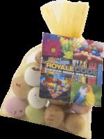 Standard Organza Bag with Mini Eggs (Full Colour Print)