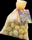 Large Organza Bag with Mini Eggs (Full Colour Print)
