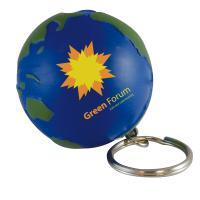Stress Globe Keyring *