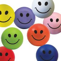 Smiley Face Stress Ball *