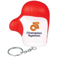 Stress Boxing Glove Keyring