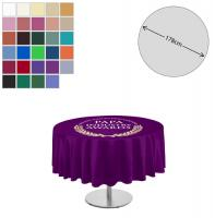 Fabric Round Tablecloth (178cm Diameter)