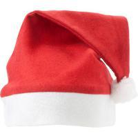 Felt Christmas hat with pom pom.