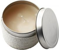 Fragranced candle in a tin