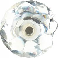 Wine stopper with crystal top
