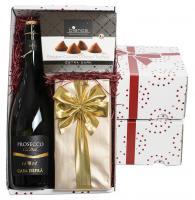 PROSECCO, CHOCOLATES AND TRUFFLES GIFT BOX E1015305