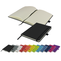 Watson A5 Budget Lined Soft Touch PU Notebook (180 pages)