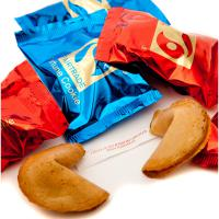 BRANDED FORTUNE COOKIES - British Made