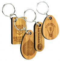 BAMBOO KEY RINGS E1011902